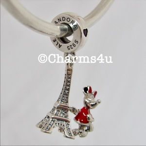 Pandora Minnie Paris Dangle Set of 3